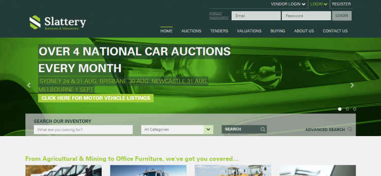 Truck  Machinery  Car   General Auctions in Sydney  Newcastle  Melbourne  Brisbane   Perth  Slattery Auctions   Valuations